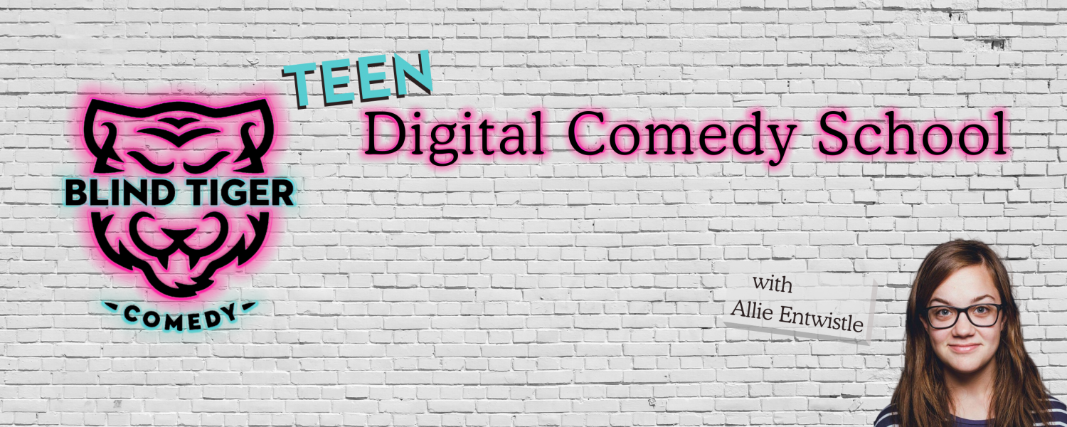 Teen Digital Comedy School Website Allie Entwistle